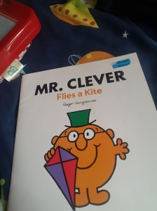 Of course we labelled a Mr.Men book!