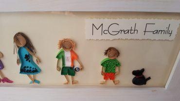 Morgan chose an Irish kit!